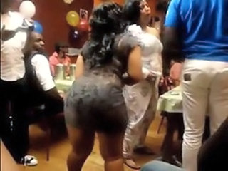 Party Ebony Ass