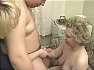 Filming Granny And Boy In Sex Act