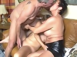 Threesome German Wife European German