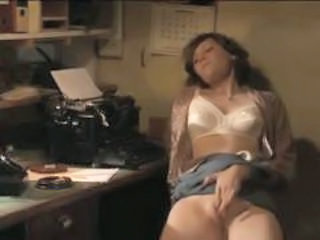 Secretary Masturbating MILF Masturbating Mature Mature Masturbating Milf Office