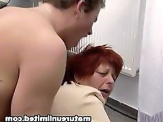 Doggystyle Redhead Hardcore Doggy Ass Fat Ass Granny Cock