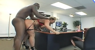 Doggystyle Office Pornstar
