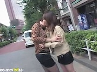 Outdoor Asian Kissing Asian Lesbian Kissing Lesbian Outdoor