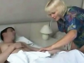 Sleeping Old And Young Mature Drilled Mom Son Old And Young