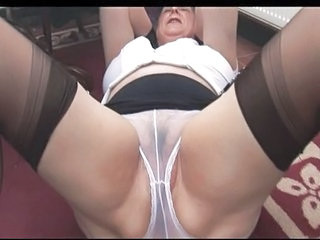 Panty Stockings Lingerie Granny Hairy Granny Pussy Granny Stockings
