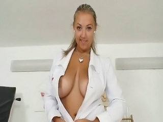 Doctor MILF Natural Big Tits Big Tits Amazing Big Tits Chubby
