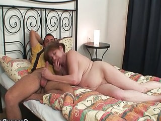 Handjob Mom BBW Bbw Mom Granny Young Old And Young