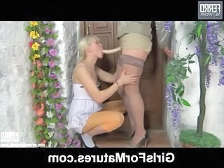 Strapon Mom Old And Young Daughter Daughter Mom Lesbian Mature