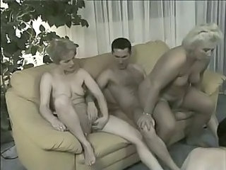 Mature Riding Threesome