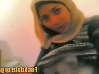 Arab homemade horny amateur couple from egypt