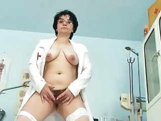 Uniform Doctor Hairy Boobs Chubby Ass Chubby Mature