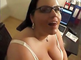 Swallow Cumshot Office