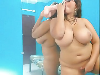 Solo Masturbating Latina