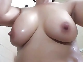 Japanese BBW Mom Bathroom Bathroom Mom Bathroom Tits