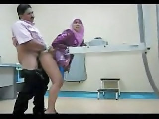 Doctor HiddenCam Doggystyle Arab Clothed Fuck Doctor Teen