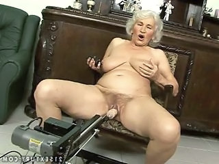 Machine Hairy Solo Granny Hairy Hairy Granny