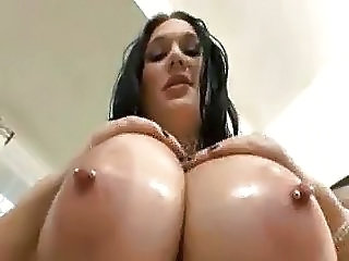 Oiled Nipples BBW