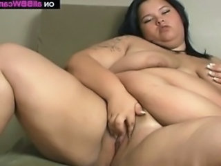 Video from: tnaflix | Fat BBW panties insertion