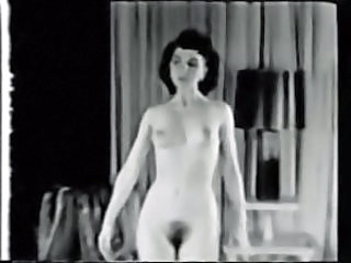 We Got Bush Black White Tits 1950's