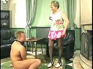 Russian Mom Old And Young Granny Stockings Granny Young Mom Son