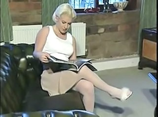 2 duo 03 blondes sofa white stockings jk1690