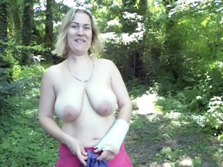 Outdoor Amateur Big Tits