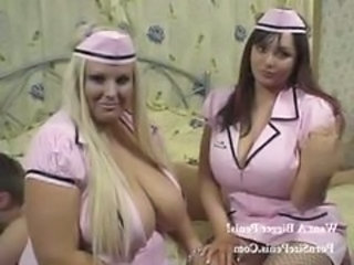 Uniform Nurse Threesome