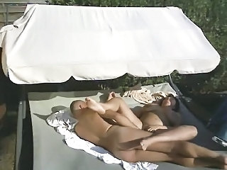 Nudist BBW Outdoor