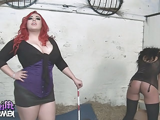 Mistress Jemstone & Friend Dominate Kerry Louise