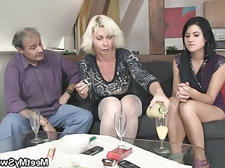 Family Drunk Mature Drunk Mature Family Old And Young