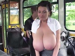 Public Bus Big Tits