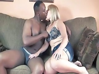Chubby Interracial MILF