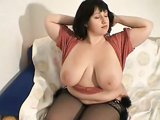 Stockings Brunette BBW