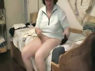 Daily Masturbation Of My Sexy Mom. Hidden Cam