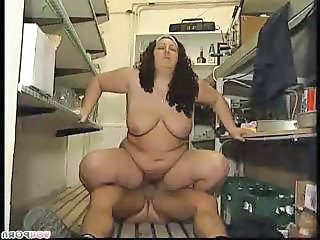 Office Hairy BBW