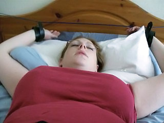 BBW Pantie stuffing & gagged with own knickers