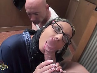 Glasses Threesome Clothed Arab Interracial Threesome Milf Ass