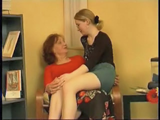 Horny Granny Taking Advantage Of Her Pre...