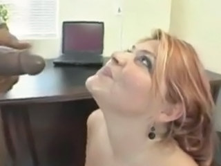 Interracial Swallow MILF
