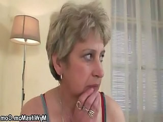 Cock Hungry Granny Fucks Son In Law