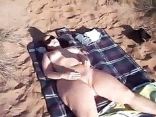 Amateur Beach Chubby