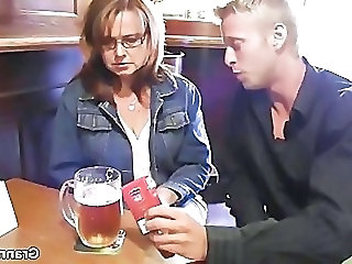 Public Drunk Glasses Amateur Old And Young Public