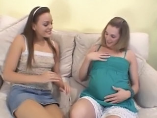 Amateurs pregnants
