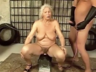 Machine Hairy BBW Bbw Tits Grandma