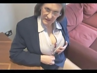 Teacher Stripper Natural Beautiful Ass Beautiful Mom Glasses Mature