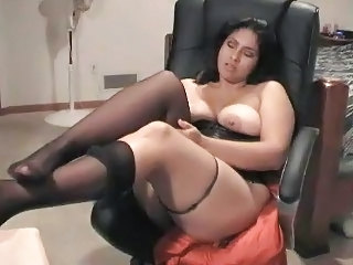 Fetish Chubby Legs Arab Milf Stockings Stockings