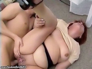 Dirty redhead housewife rides an hard part5