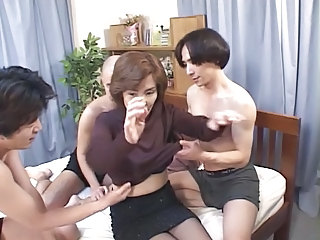 Japanese Asian Gangbang Aunt Gangbang Asian Old And Young