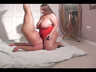 BBW face sitting & handjob