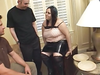 Latex Threesome BBW